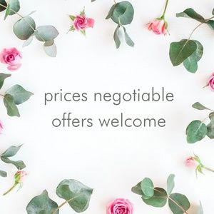 🌷 Offers welcome!  🌷